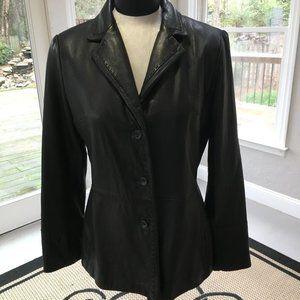Jones New York womens Leather Jacket